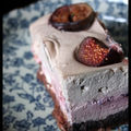 Cheesecake Frenzy - Cheesecake Garance : cheesecake aux framboises, figues et grenade