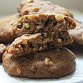 Cookies muscovado - speculos et chocolat blanc