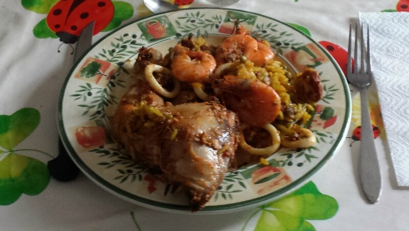 PAELLA ANDALOUSE PHOTO