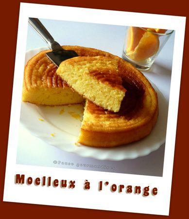 Moelleux à l'orange (1)