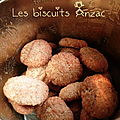 Les biscuits anzac