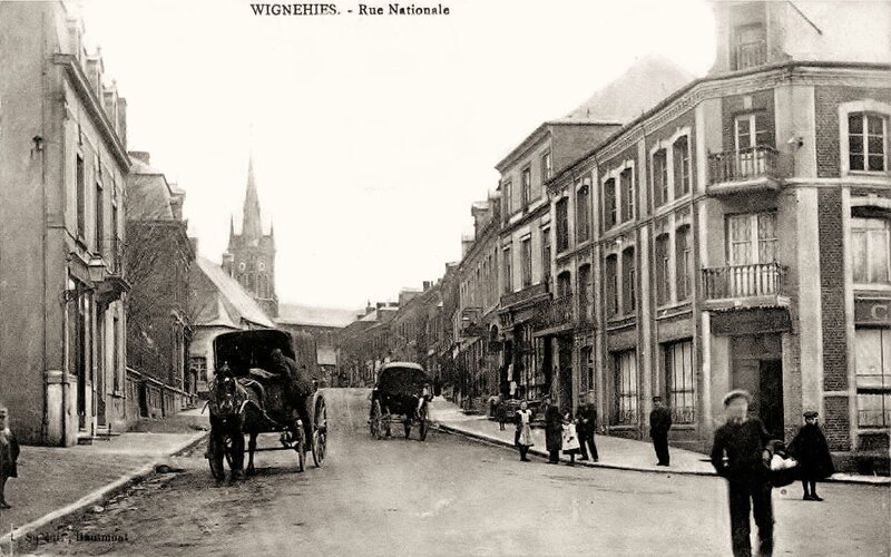 WIGNEHIES - Rue Nationale