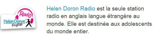 Helen Doron English radio EzEvEl