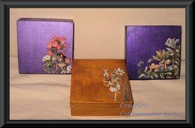 3 boites Flower Fairies