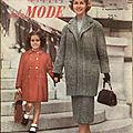 mode echo de la mode septembre 1955