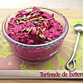 Tartinade de betteraves