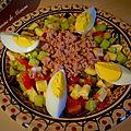 Slata tounsia (salade tunisienne)