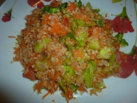 boulgour salade