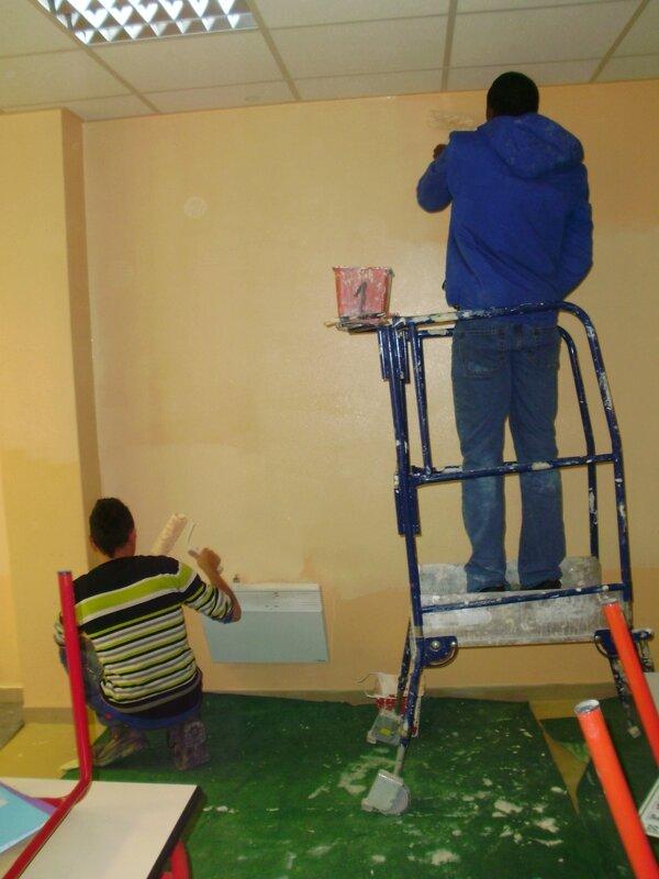 Travaux de peinture pour les DIMA