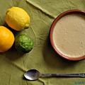 Crèmes citronnées au yaourt de brebis