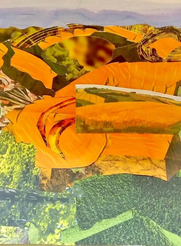 Collage 2 à la David Hockney