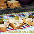 Rillettes de thon au piment d'espellette