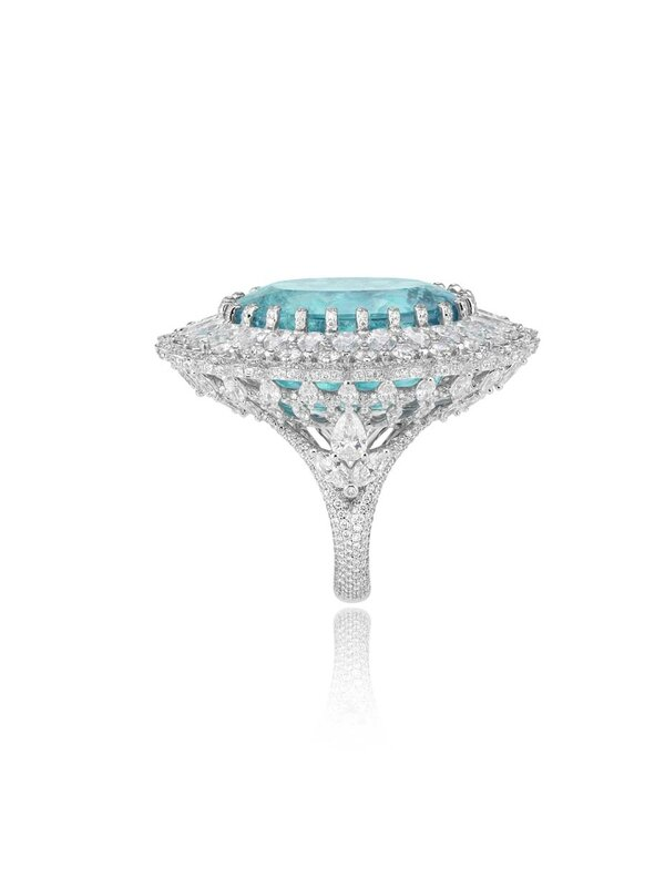 Chopard_ring_Paraiba tourmalines