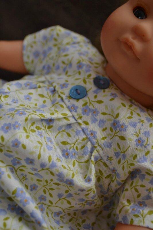 Couture pour bébé corolle