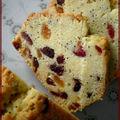 Cake aux pavot et fruits secs