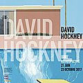 David hockney, au centre pompidou