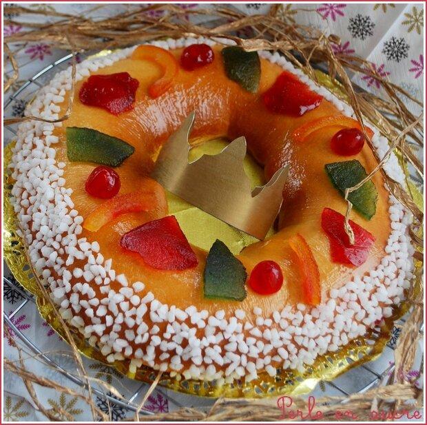 Epiphanie brioche et galette des rois perle en sucre for Decoration galette des rois