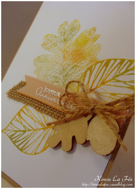 Carte Automne Baby Wipe 2