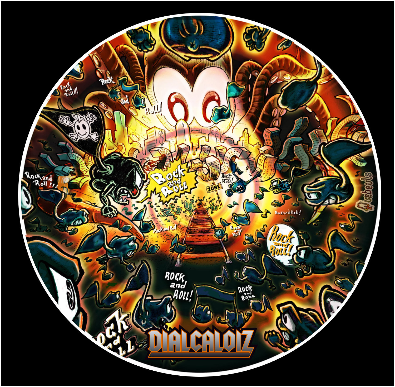 Visuels du prochain CD de Dialcaloiz