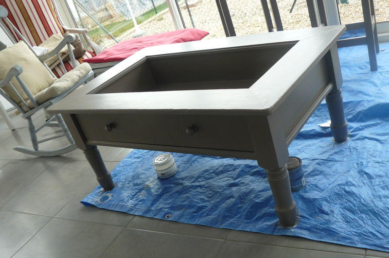 Relooker une table basse fabulous with table basse ikea - Relooker une table ...
