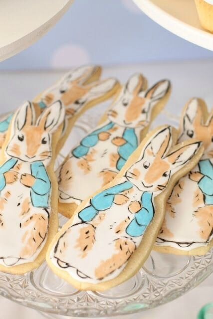 cookies lapin beatrix Potter
