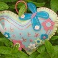 2007 - Hearts a flutter, coeur 3 - Cinammon patch