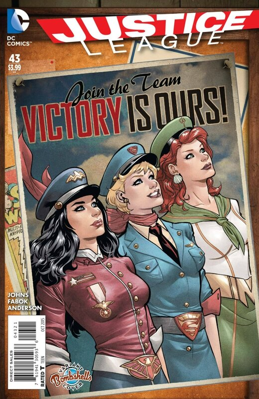 justice league 43 bombshell variant