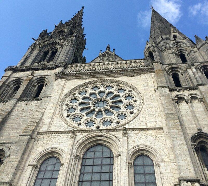 Cathérale de Chartres - façade