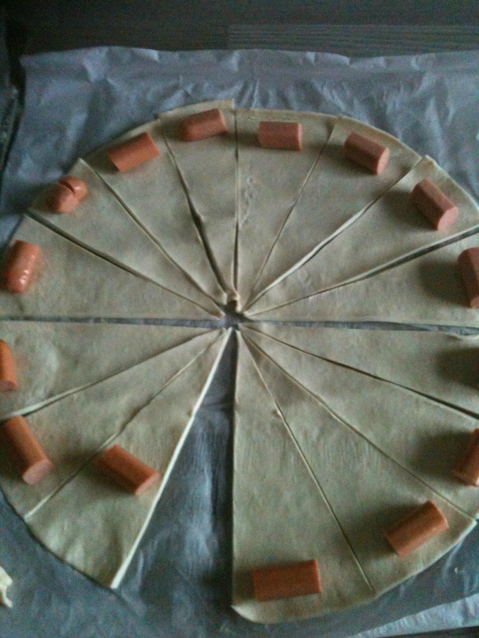 Favorit Croissant feuilleté saucisse - Les p'tites douceurs de Nini PI84