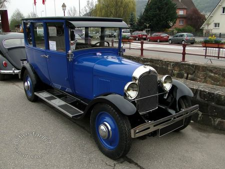 citroen b14 berline, 1928, bourse de soultzmatt 2013 3