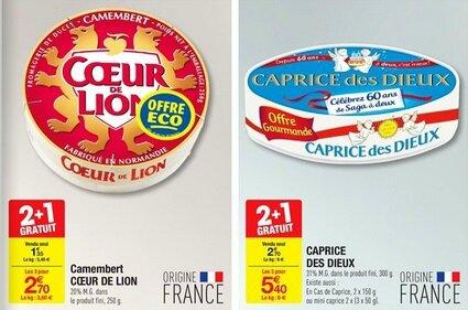 Carrefour Hyper Coeur de Lion et Caprice des Dieux du 29-06 au 4-07-2016