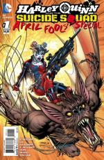 new 52 harley quinn and the suicide squad april fool's special