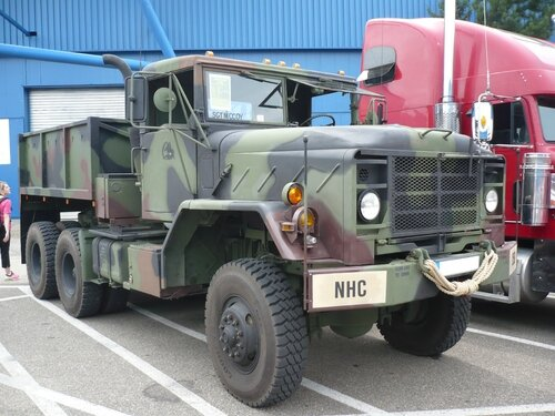 AM GENERAL M931 semi-remorque militaire 1984 Sinsheim (1)