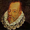 Cervantès et shakespeare, morts le 23 avril 1616 à dix jours d'écart