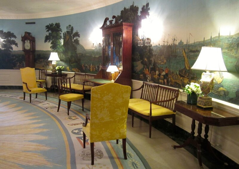 diplomatic reception room