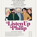[critique] (7/10) listen up philip par matthieu eb.