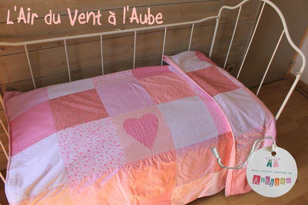 L'Air du Vent sur petit lit