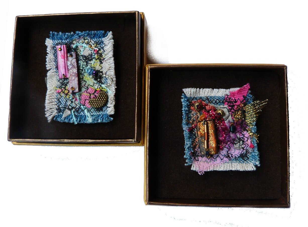 Chifonie broches textile II