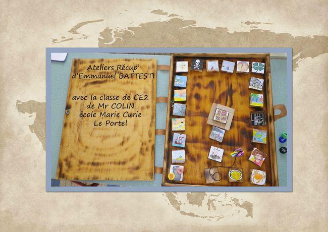 atelier scolaire cr ation de jeux de soci t et land art les ateliers r cup 39 d 39 emmanuel. Black Bedroom Furniture Sets. Home Design Ideas