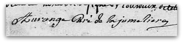 Aurange signature ZZZ