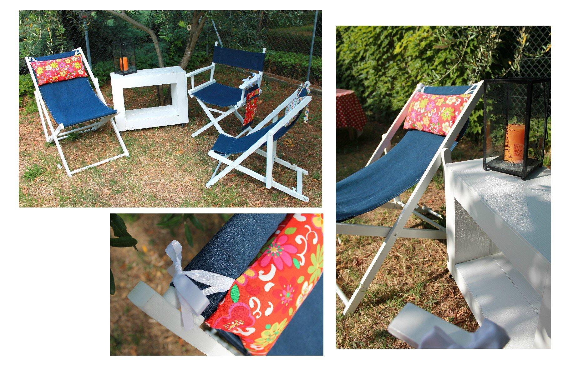 mon nouveau salon de jardin recup 39 f e main by val rie. Black Bedroom Furniture Sets. Home Design Ideas