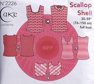 Cake Patterns - Scallop Shell j