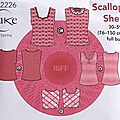Cake patterns - scallop shell