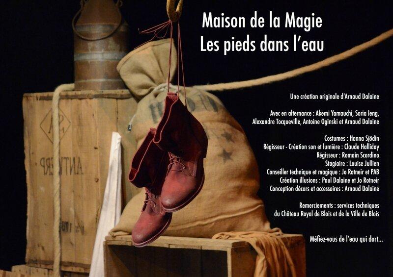 Les pieds dans l'eau - Maison de la Magie - Arnaud Dalaine - Blois