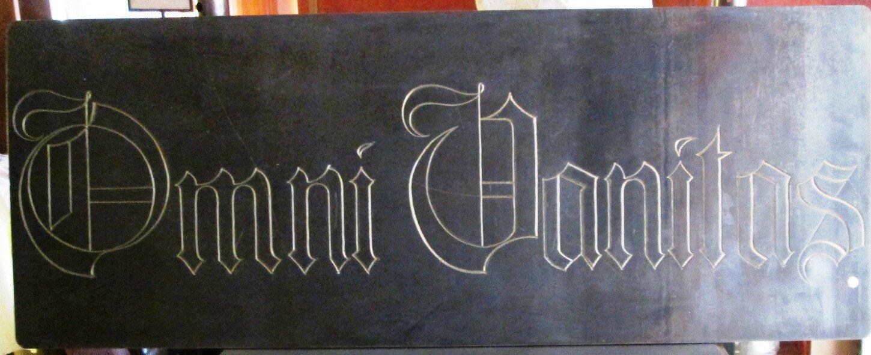 2 plaque en acier corten 270x700mm photo de 9a calligraphie sur acier gravure. Black Bedroom Furniture Sets. Home Design Ideas