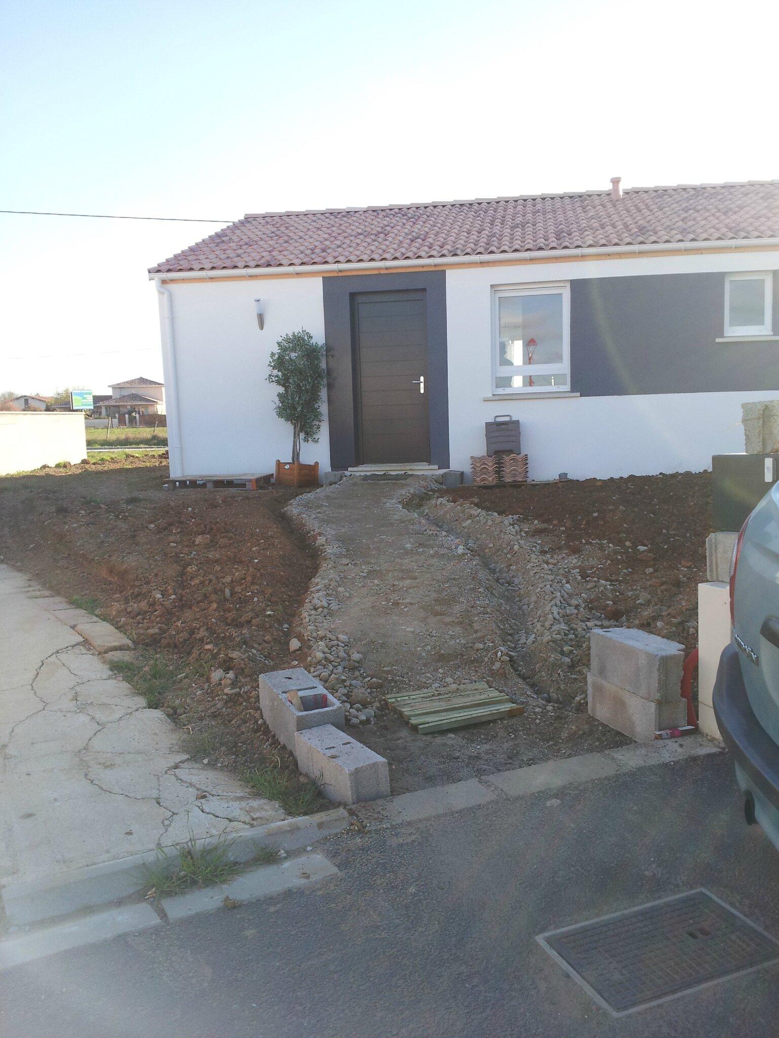 Notre maison phenix dans le 31 for Bain en bois exterieur