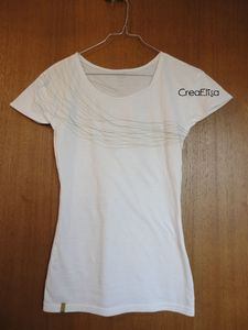 T shirt blanc avant