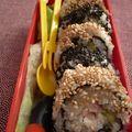 Maki truite raifort concombre