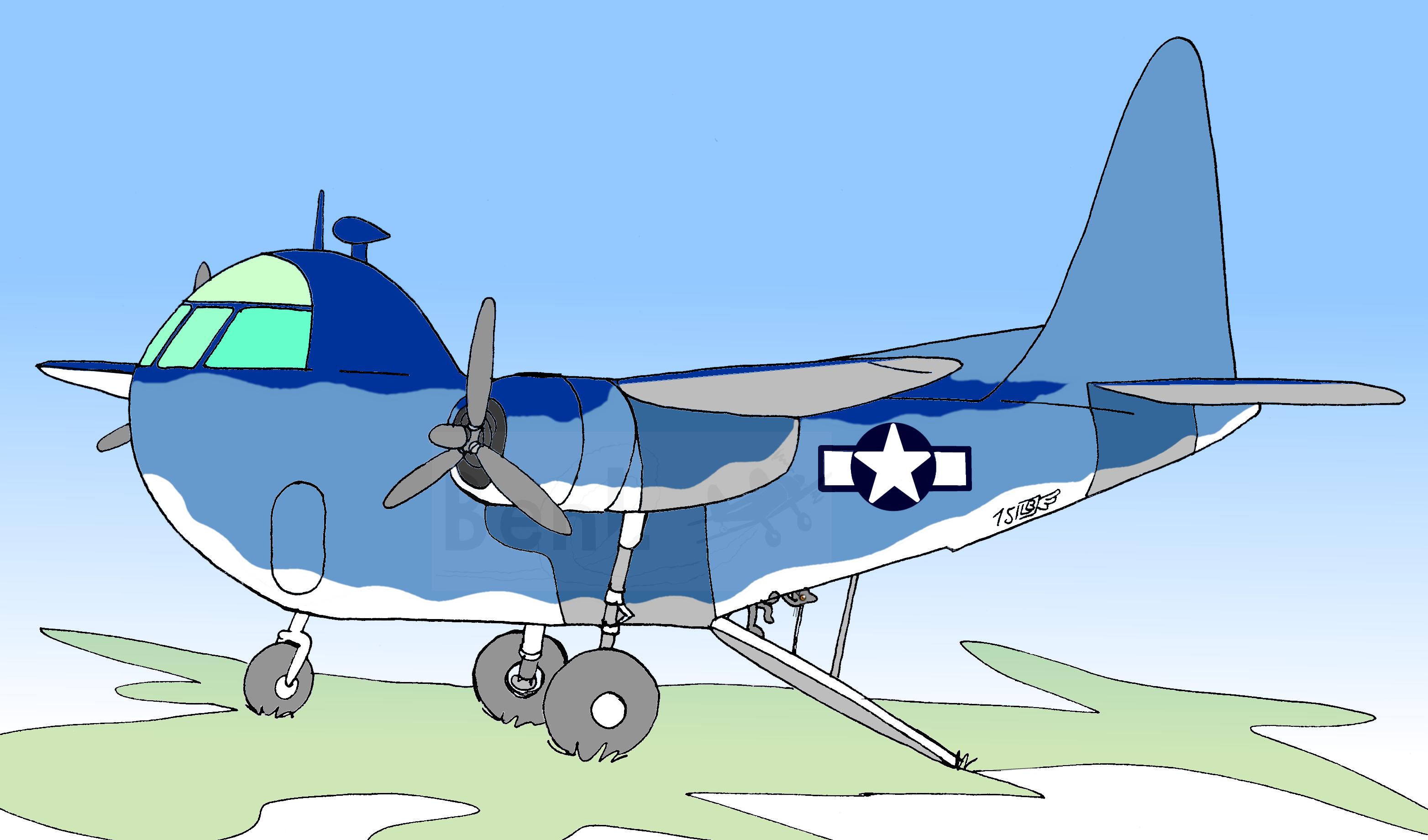 Budd RB-1 Conestoga (1)