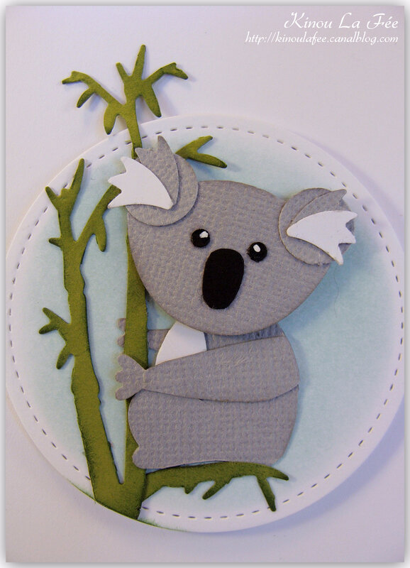 Carte Foxy Friend Koala 3